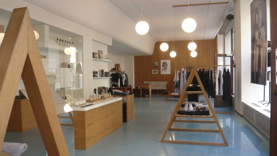 A retail space well worth a visit in Vognmagergade 7