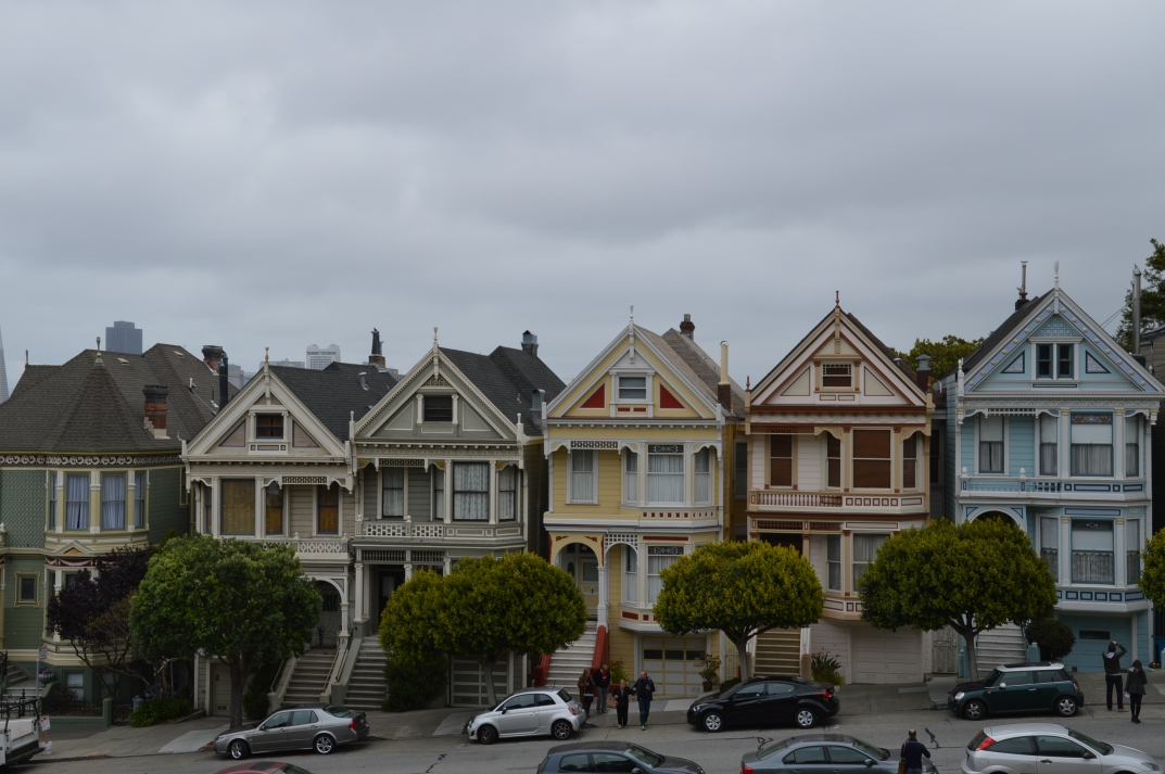 Those Painted Ladies facing Alamo Square